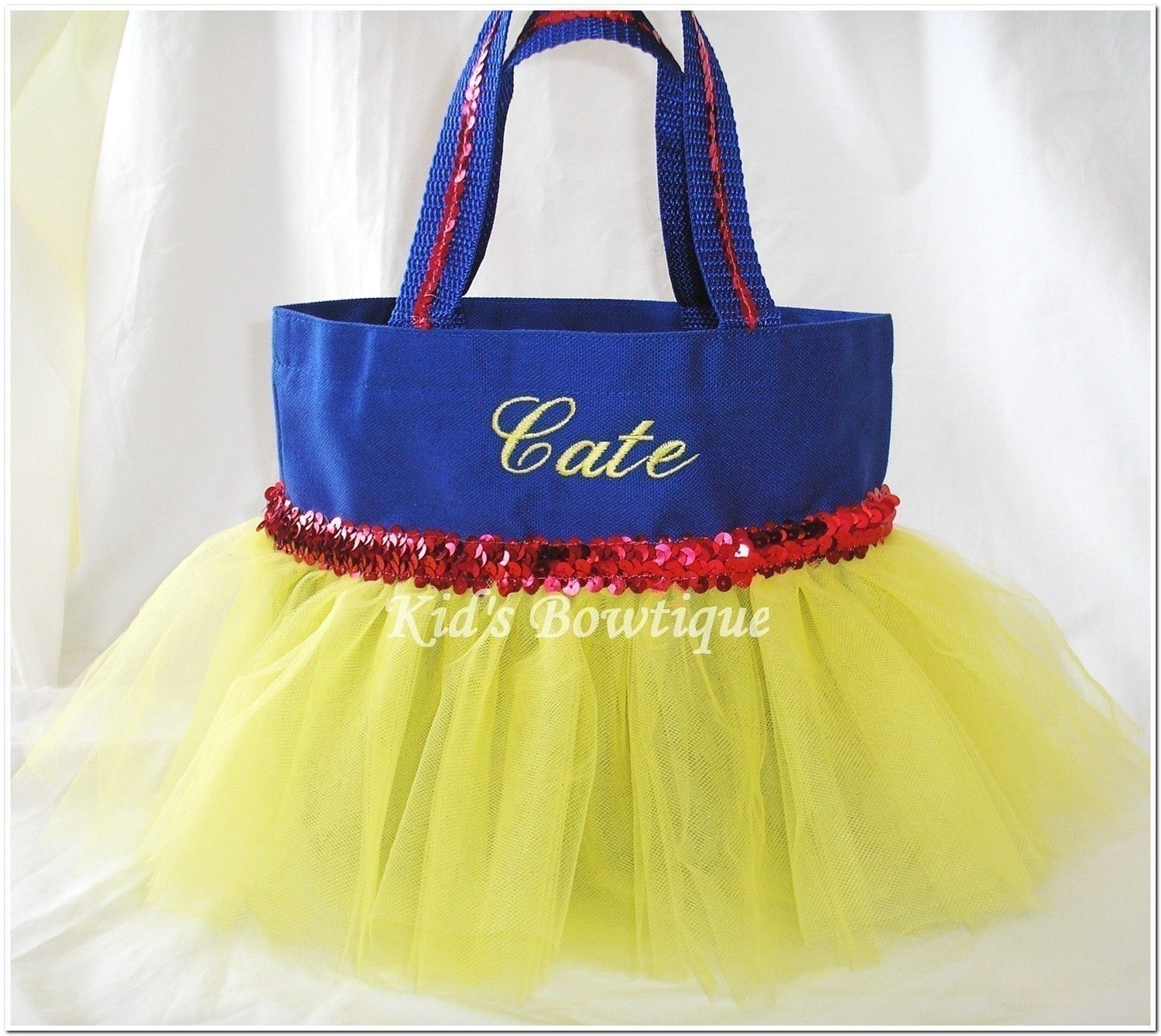 Personalized Tutu Bag - Add to your Snow White Halloween Costume ...