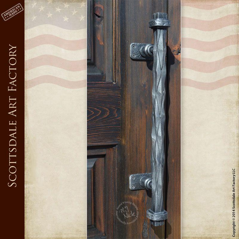 Good Iron Door Pulls   Custom Door Hardware HH348A