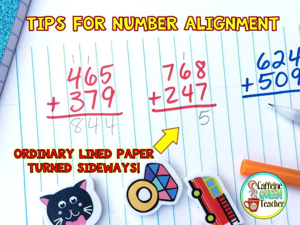 Graph Paper Math Intervention