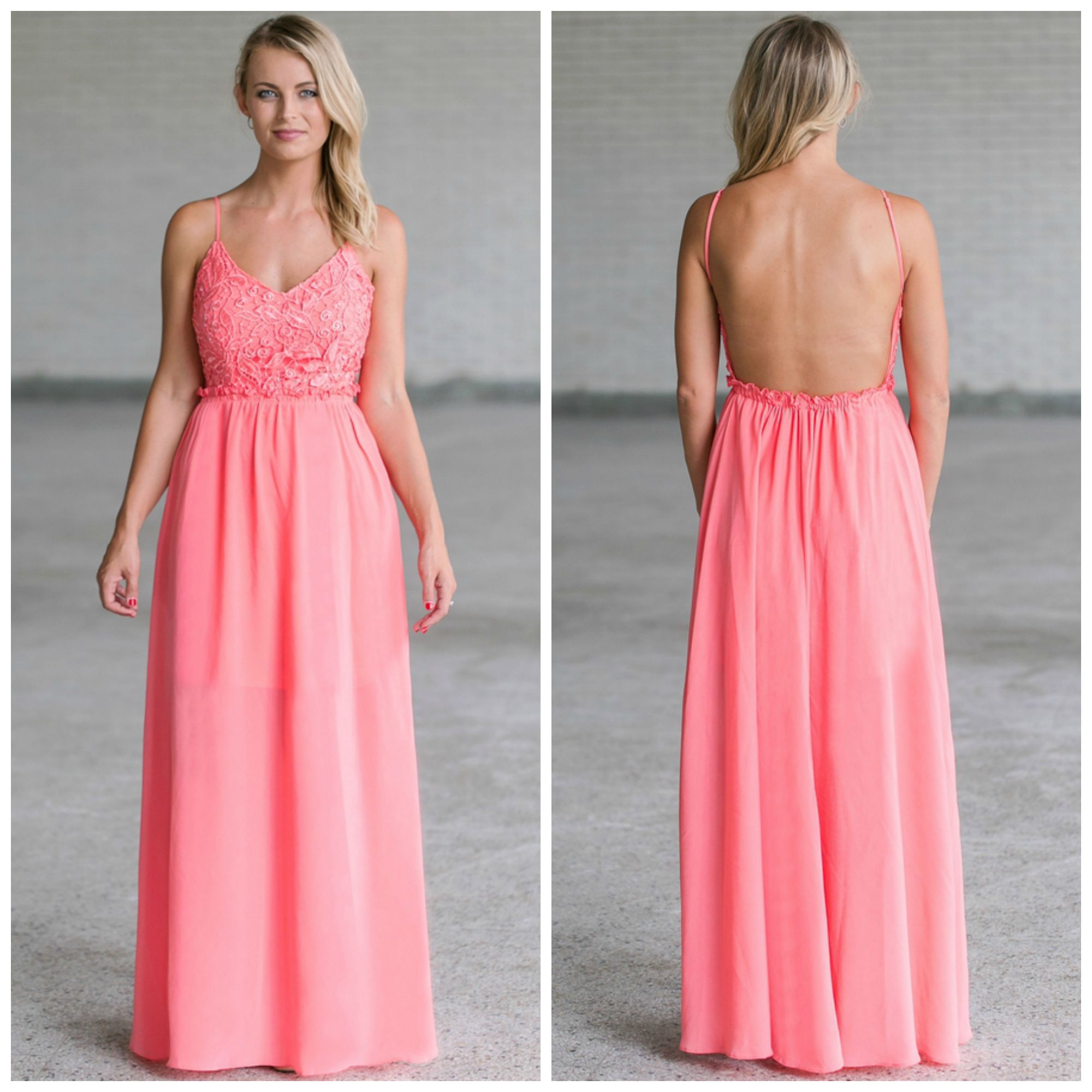 This pink maxi dress is perfect for any formal event! http://ss1.us ...