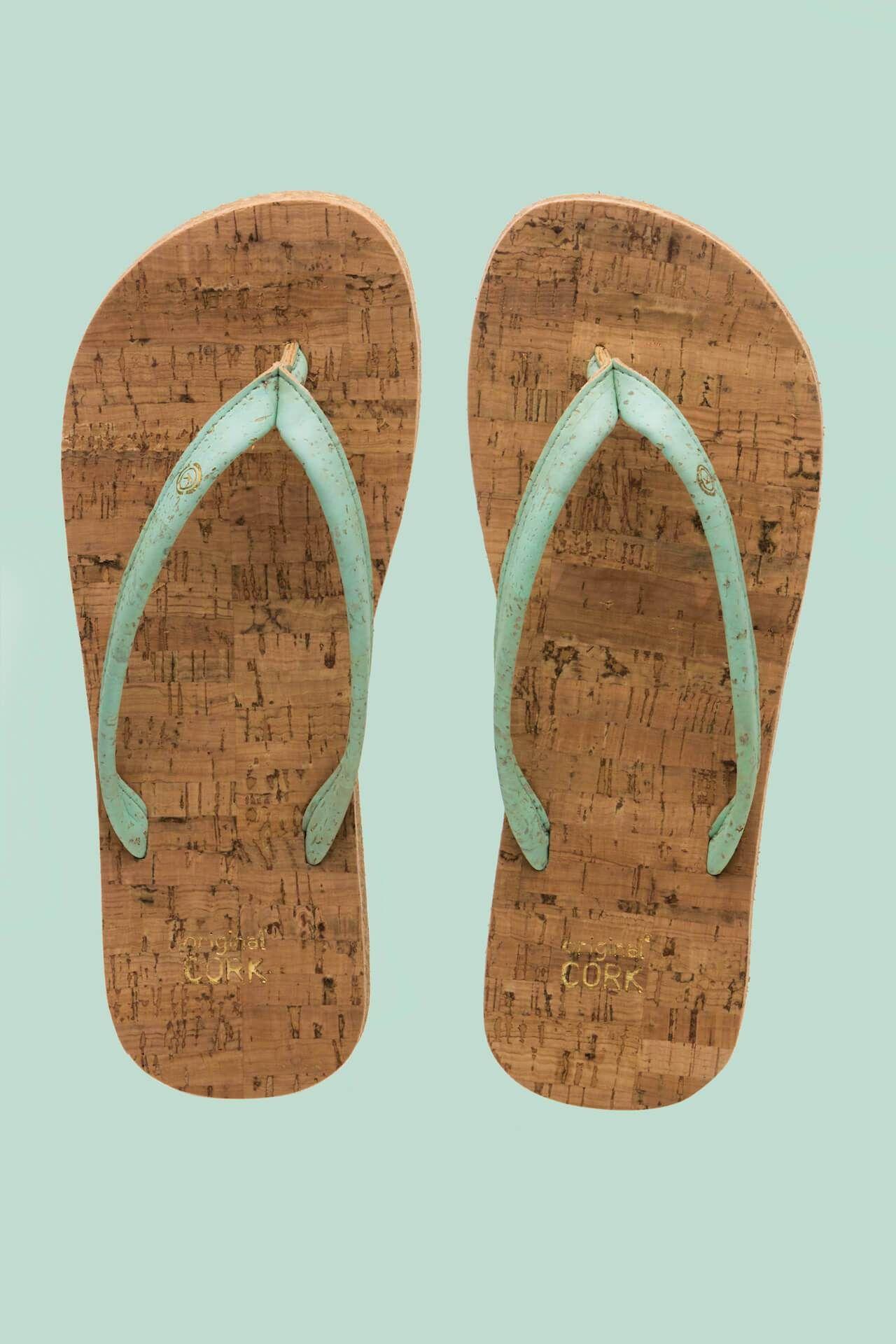 Original Cork Sandals – Aqua / 40