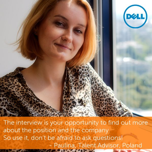 Another Great Tip From Paulina One Of Our Recruiters Here At Dell Asking Questions Shows Your Motivation For The J This Or That Questions Career Job Opening