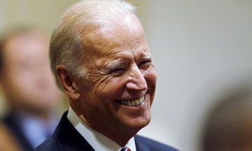 Watch Joe Biden's Emotional Return To The Senate
