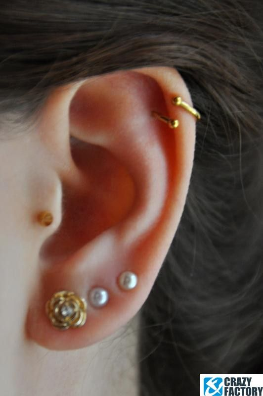 Crazy Factory Piercing The Best Piercings You Can Buy For Less Piercings Ohr Ohrpiercing Tragus Tragus Piercings