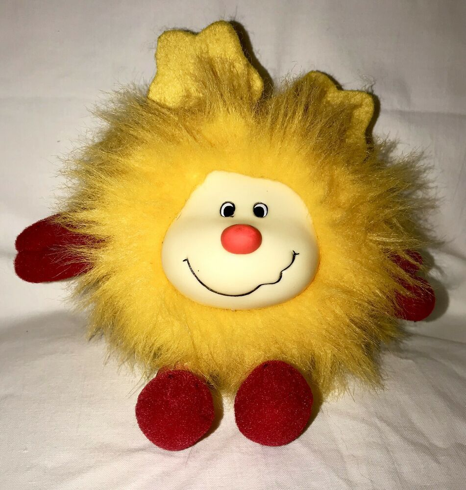 YELLOW SPRITE Rainbow Bright Doll Vintage 1980s Mattel in