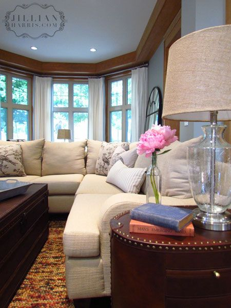 Living Room Designs Bay Window Livingroomdesigns Couches For