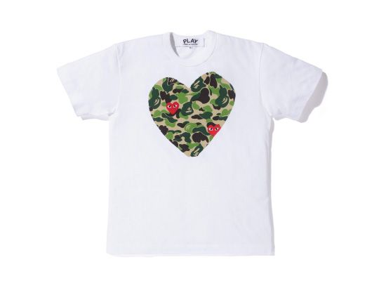 2f0859ff A Bathing Ape x PLAY COMME des GARCONS - The Full Collection   Stuff ...