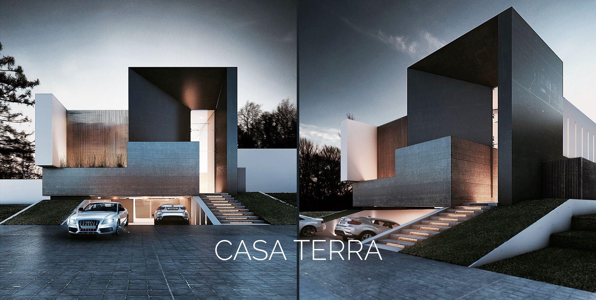 Creato arquitectos architecture pinterest arquitectos fachadas y arquitectura - Arquitectos casas modernas ...