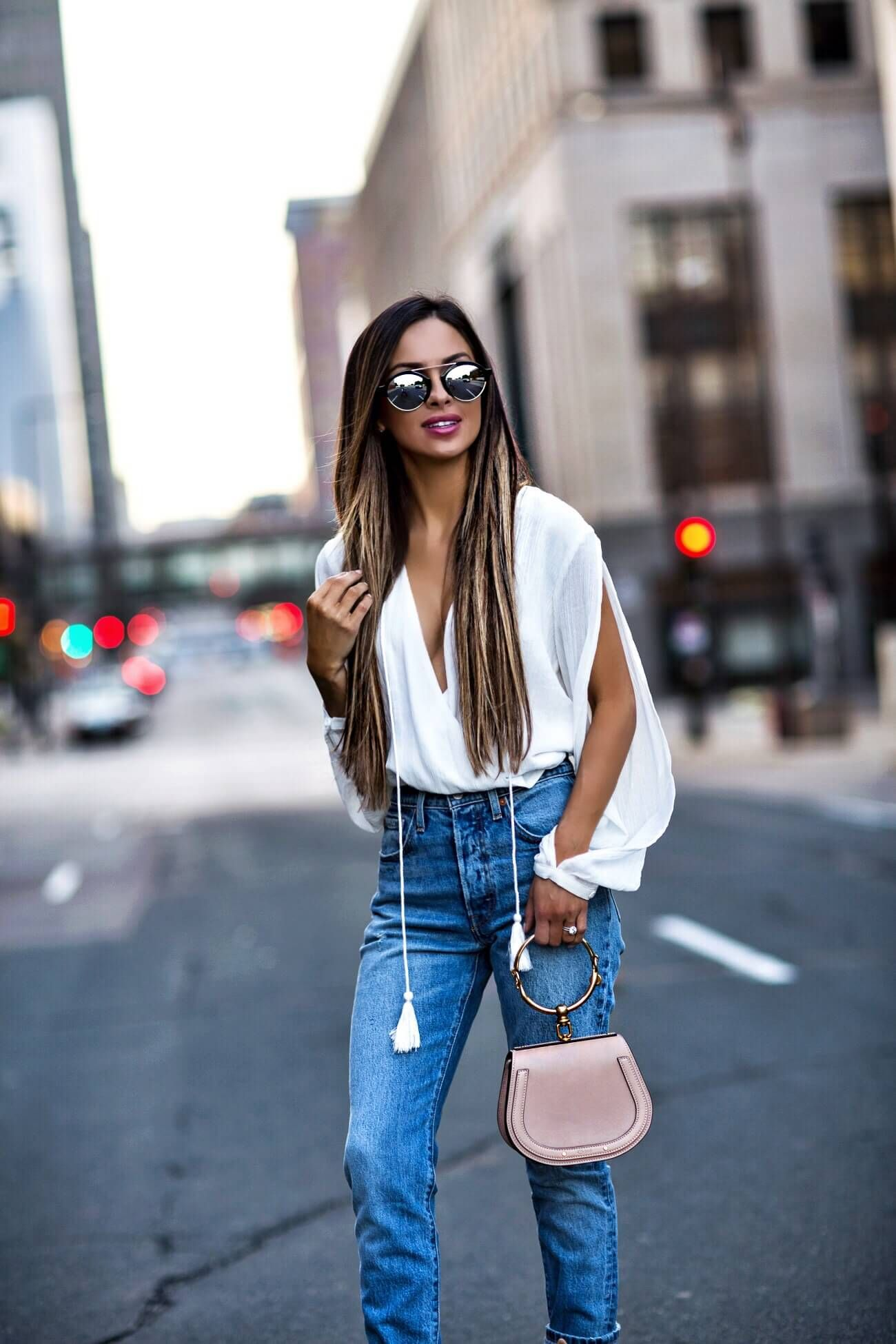 fashion blogger mia mia mine wearing a chloe nile bag from nordstrom and  illesteva sunglasses from net-a-porter d63ab6244