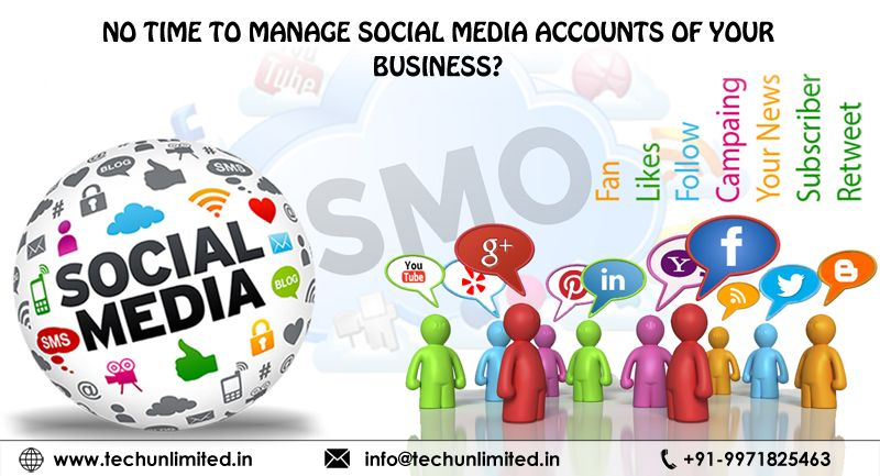 TechUnlimited is Let experts handle socialmedia presence