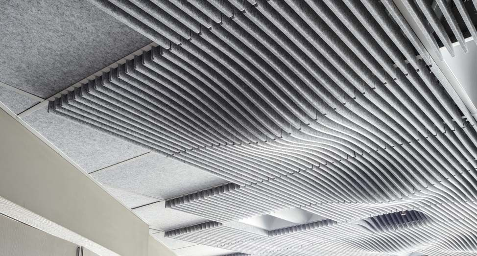 Swell Acoustic Drop Ceiling Tile Dropped Ceiling Drop Ceiling Tiles Ceiling Tile