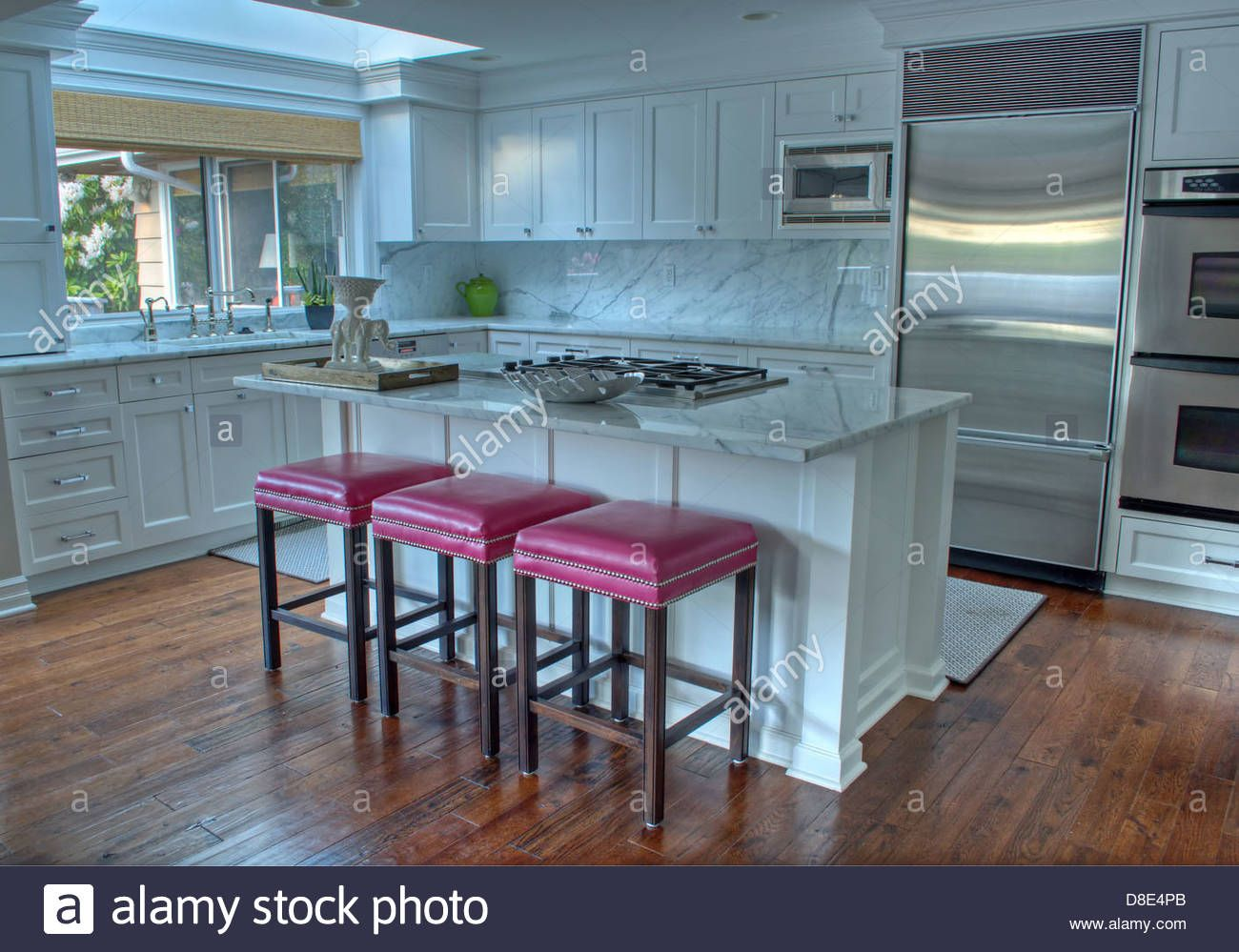 Download this #stock #image: modern #kitchen with white cabinets ...