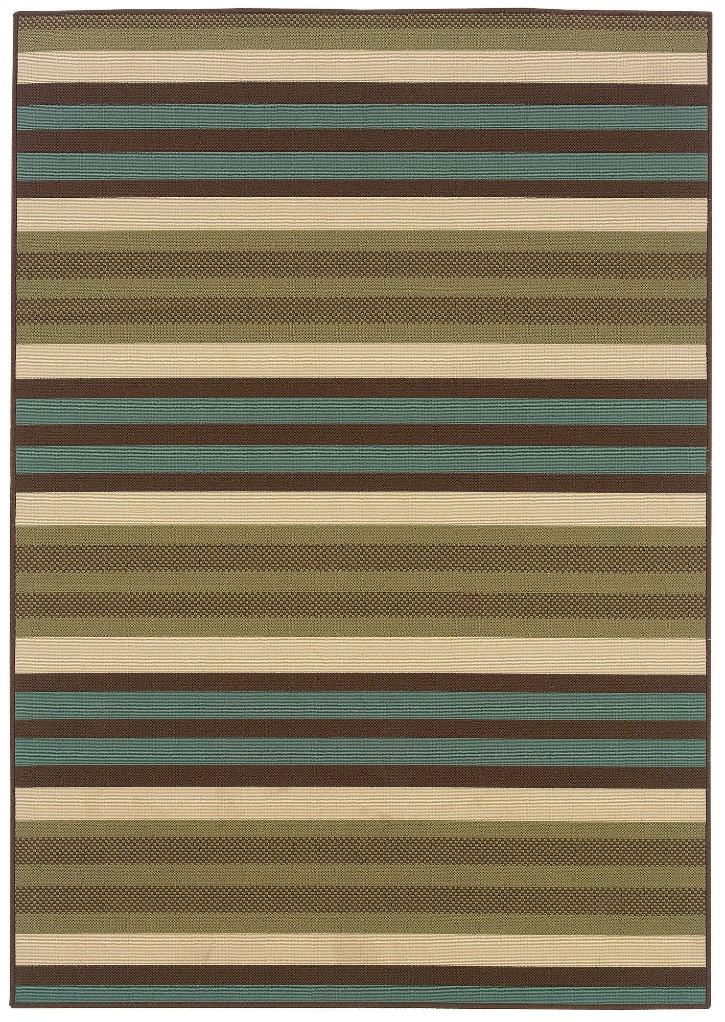 Isla Green/Blue Indoor/Outdoor Area Rug