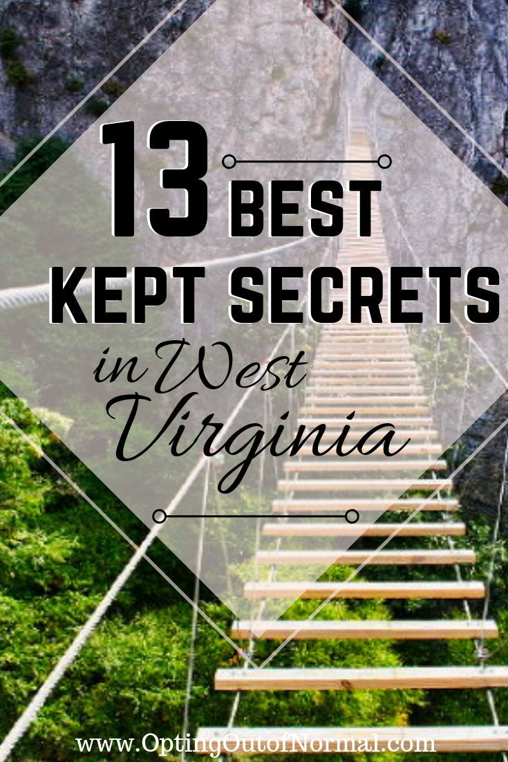 Off the Beaten Path in West Virginia. Unique and Hidden Gems in West Virginia - Opting Out of Normal