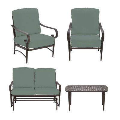Create U0026 Customize Your Patio Furniture Oak Cliff Collection U2013 The Home  Depot
