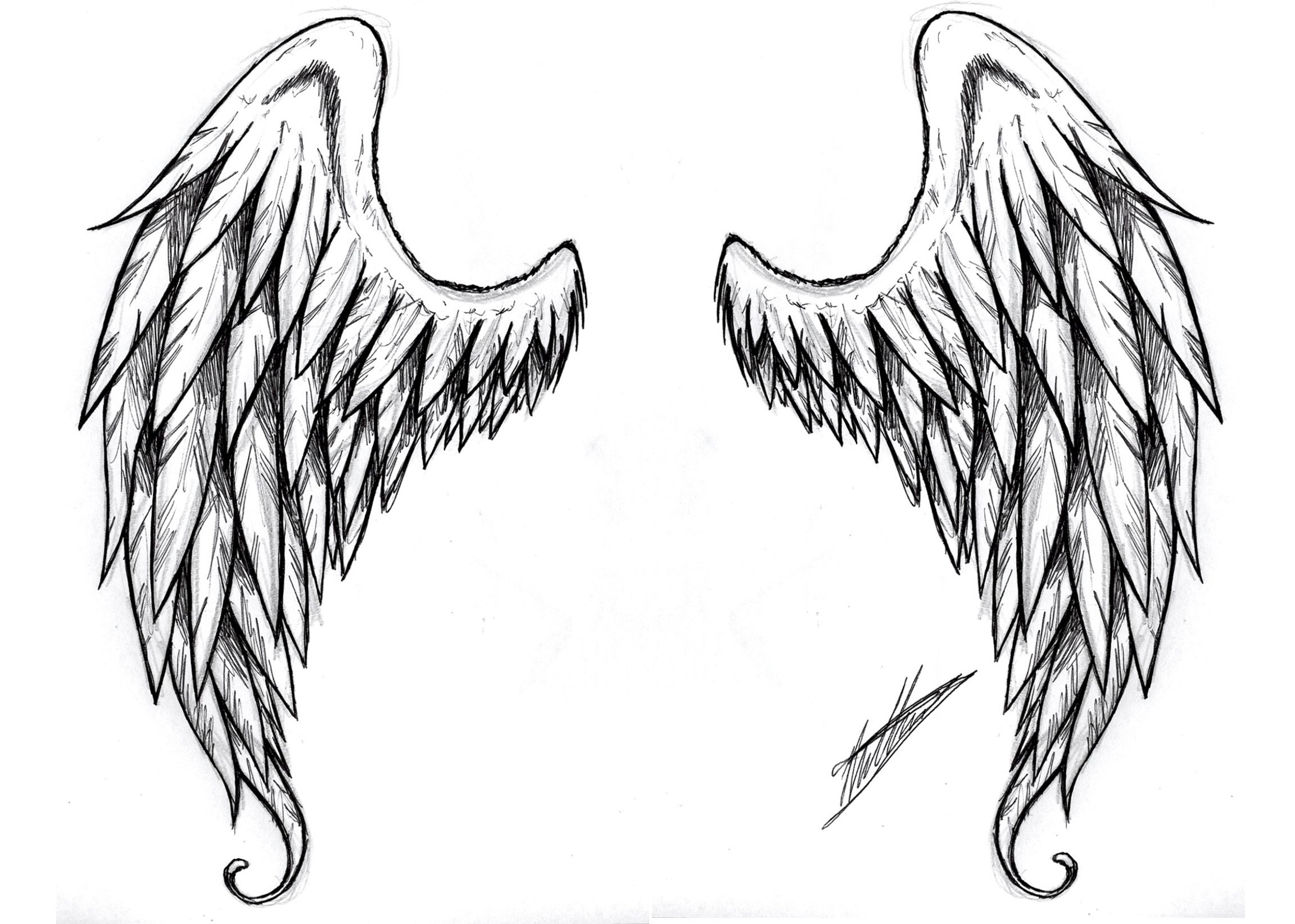 Images For > Realistic Angel Drawings | Angels | Pinterest | Angel ...