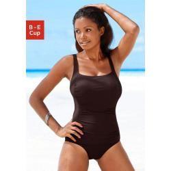 Große Größen: Lascana Badeanzug, braun, Gr.52C Lascana – Swimsuit