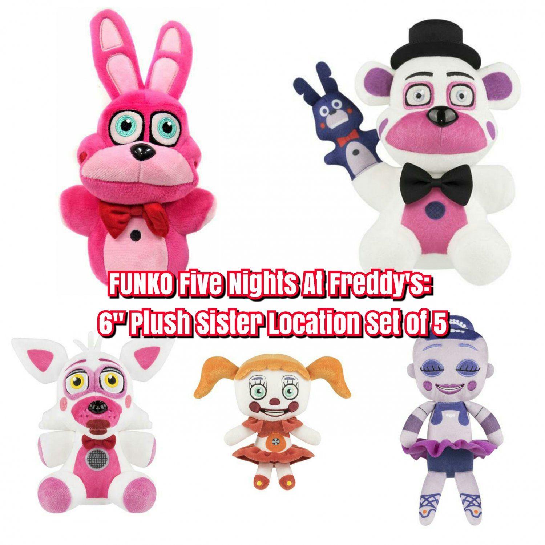 "Funko CINQ NIGHTS AT FREDDY/'S 6/"" Funtime Foxy plush"