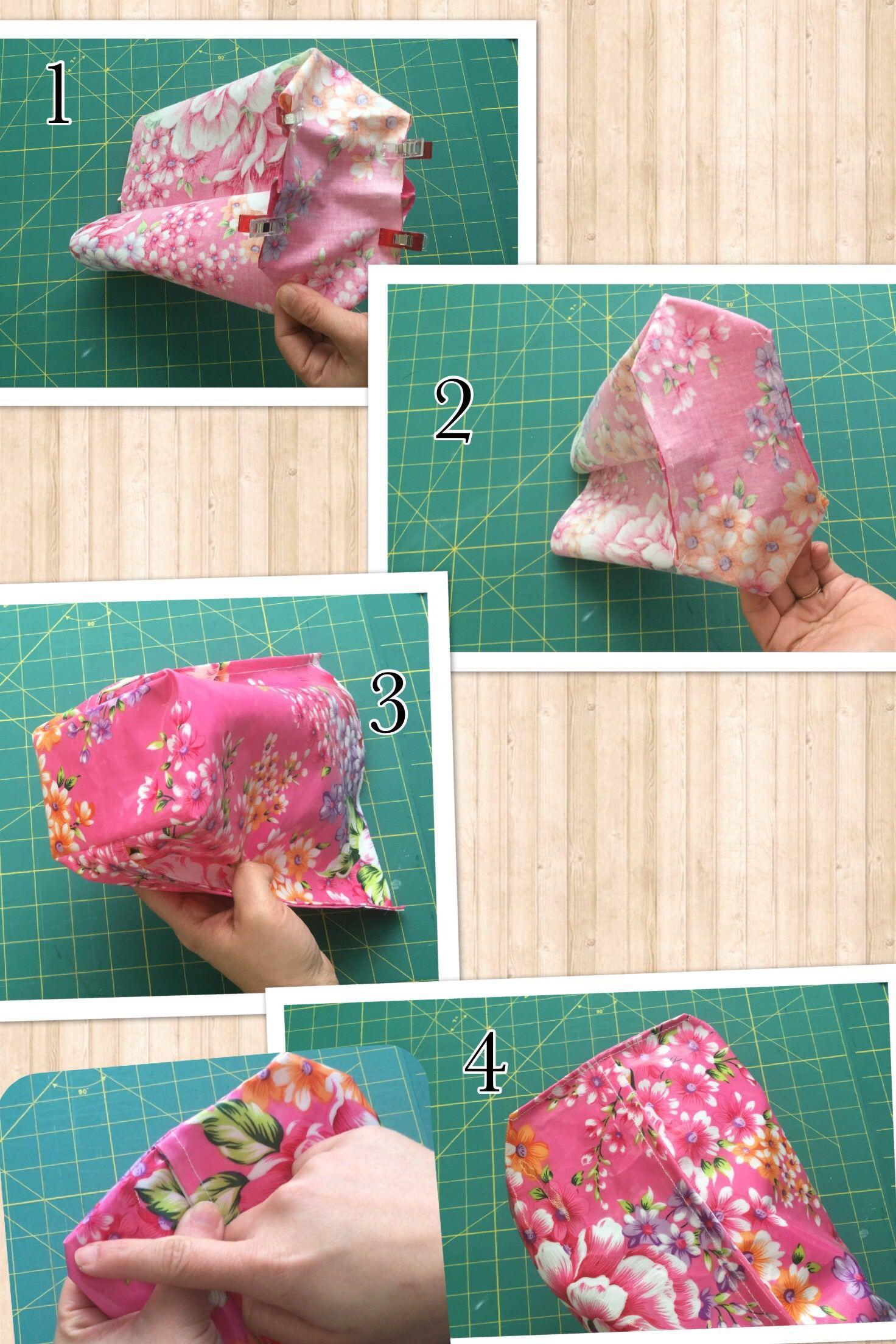 Diy waterproofs Laundry bag tutorial Korean fashion