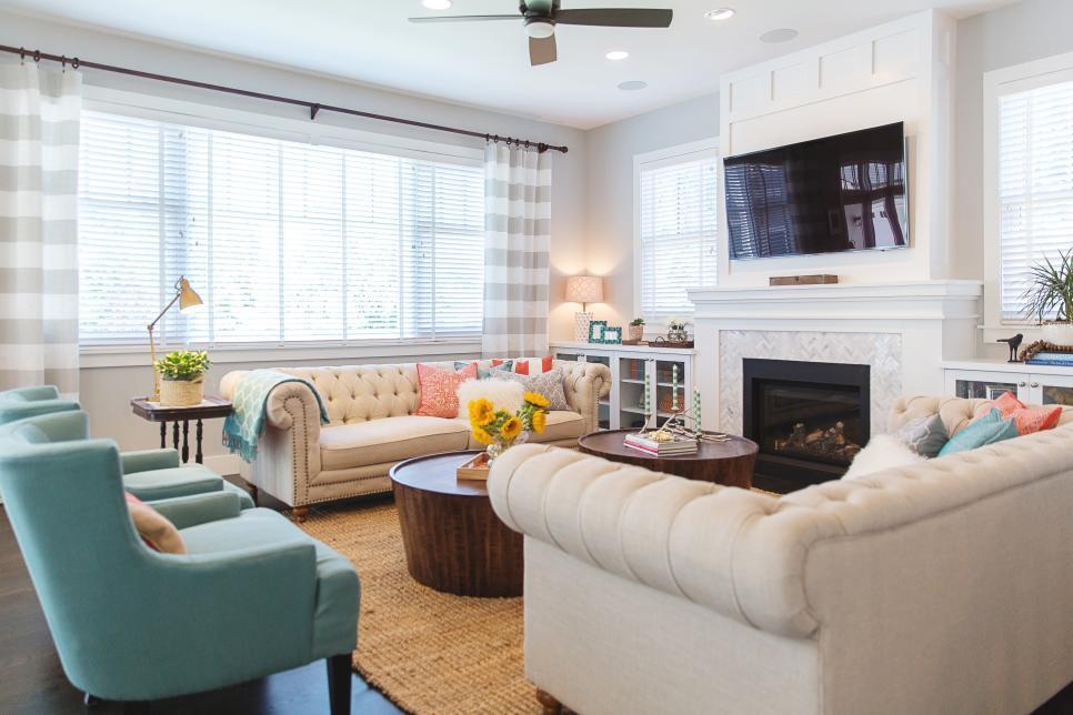 20 Living Room Design Ideas For Any Budget Hgtv Hgtv Living Room Hgtv Living Room Design Family Friendly Living Room