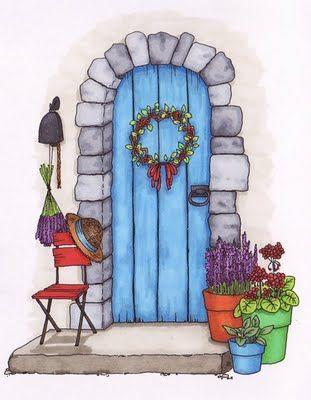 Beccy's Place: Front Door