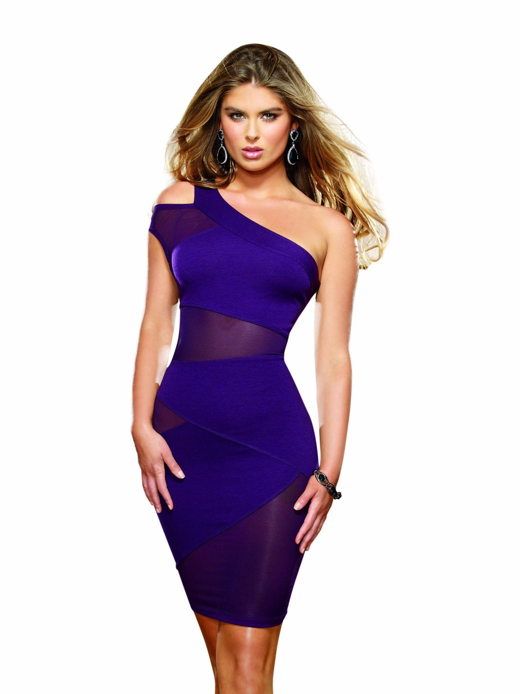 Amazon.com: Dreamgirl Women\'s Black Crush Club Dress: Adult Exotic ...