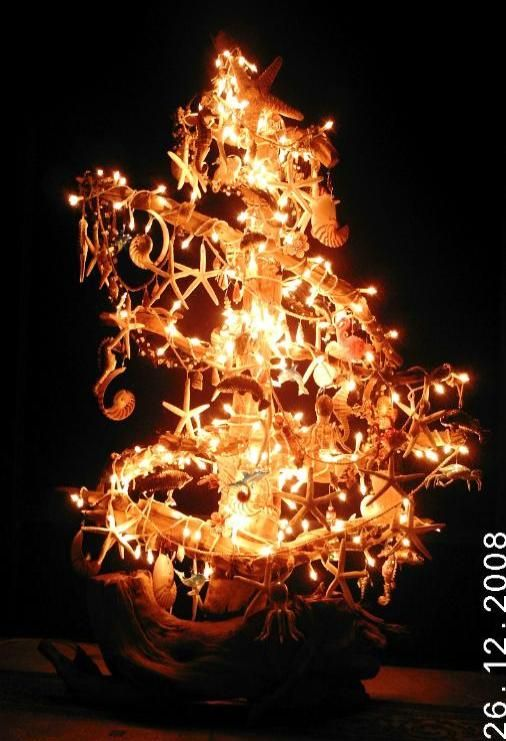 This will be my Christmas Tree in my beach house(when I get one