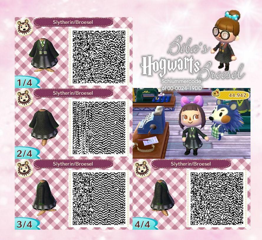 Dress Slytherin Hogwarts Broesel Animal Crossing Animal Crossing Qr Codes Clothes Qr Codes Animal Crossing