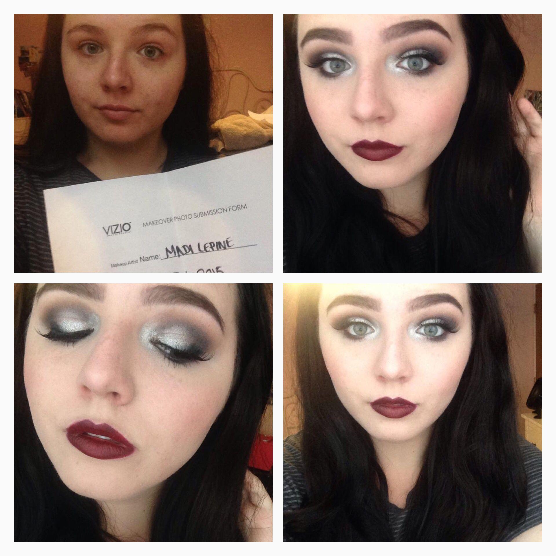Madi's amazing roaring 20's vintage makeup look 💋 Vizio