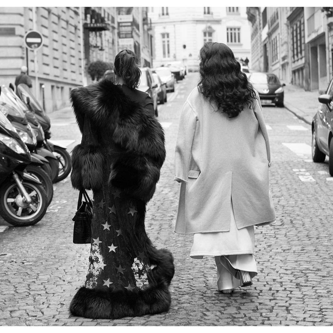 "7,738 Likes, 39 Comments - Marjorie Harvey (@marjorie_harvey) on Instagram: ""Parisian streets #loriharvey #marjorieharvey"""