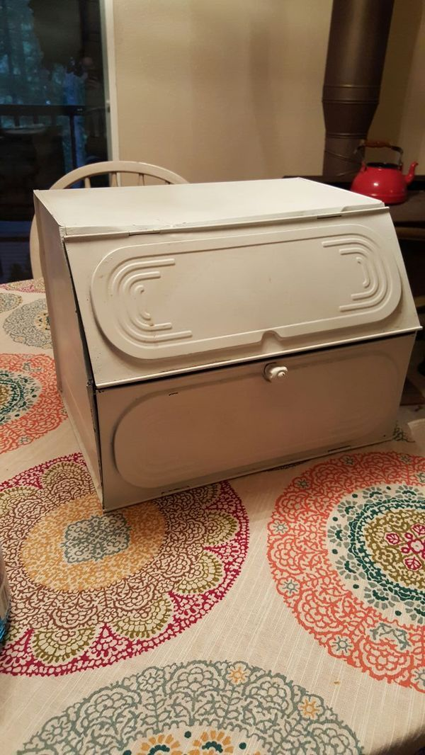 Vintage Bread Box For Sale In Yelm Wa Offerup Vintage Bread