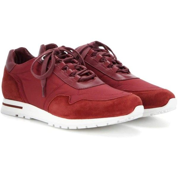 buy cheap geniue stockist Loro Piana My Wind suede and fabric sneakers clearance recommend clearance clearance store QfcZVLO2