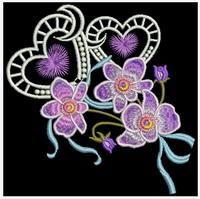 Elegant Floral 6 - Sweet Heirloom Embroidery   OregonPatchWorks