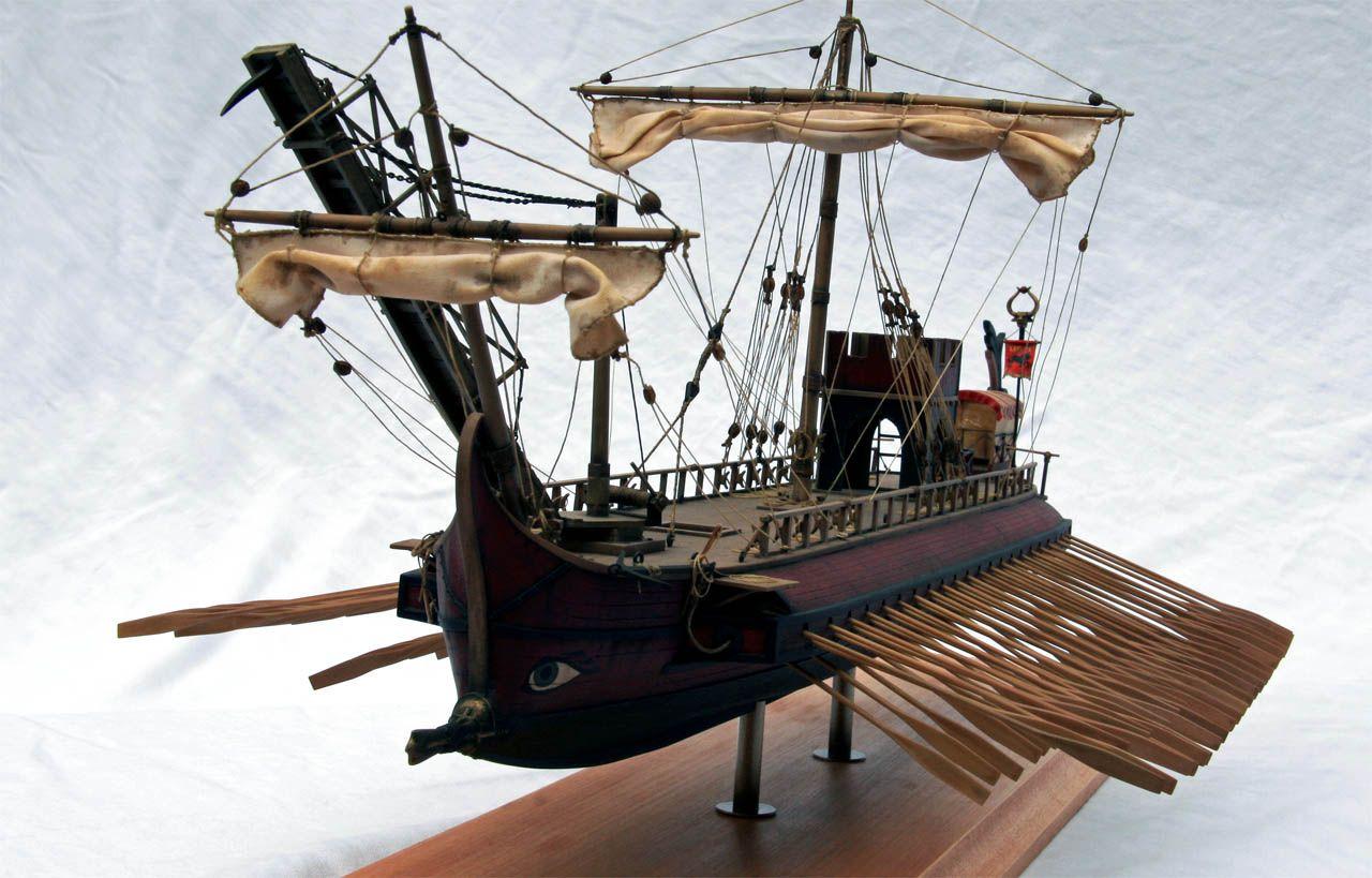 Roman Trireme Model Ships Pinterest Ship Sailing And Pirate Diagram Piratediary Scale Models Empire Persian