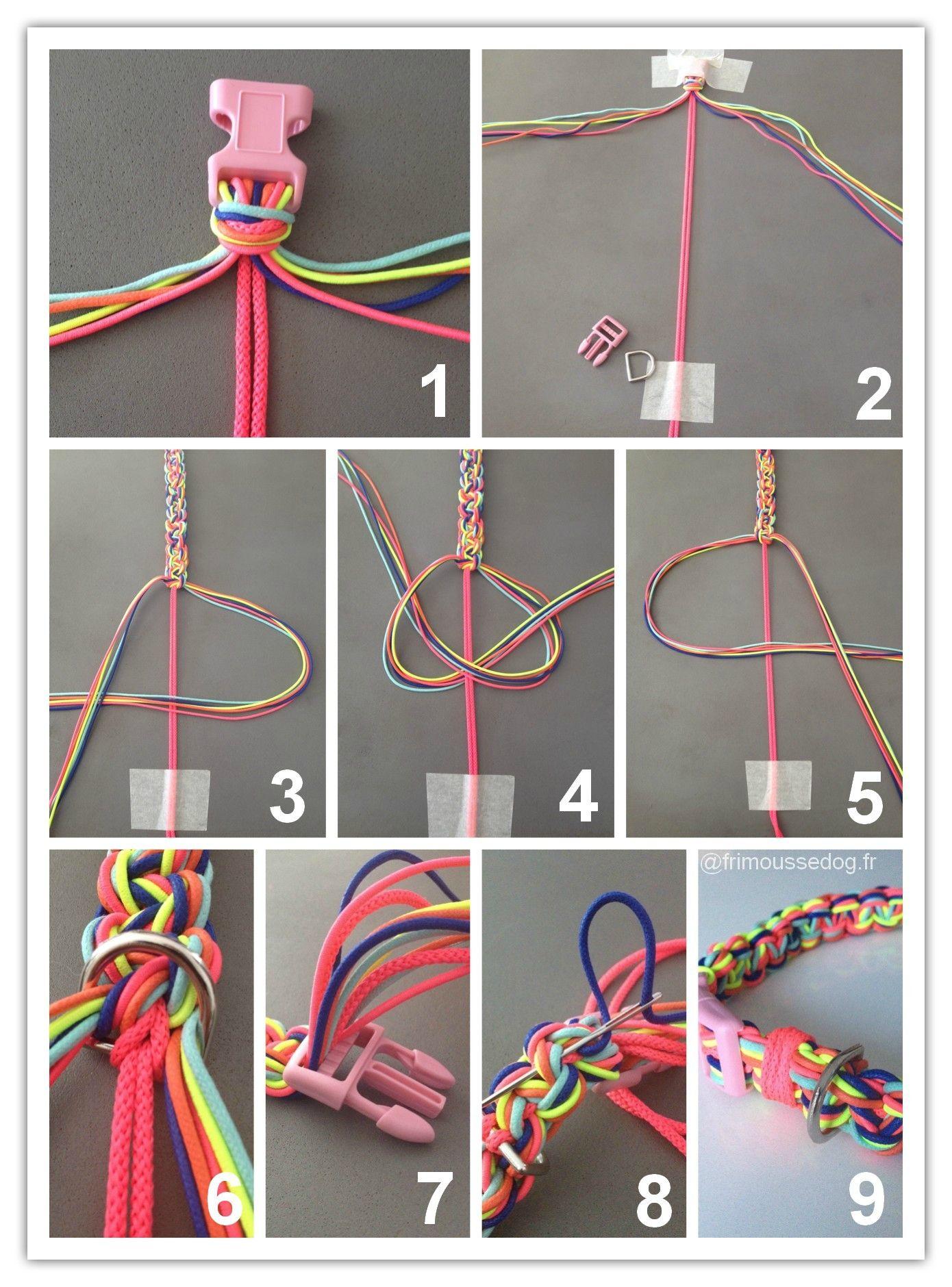tuto collier chien - Recherche Google   Consignment Crafts   Diy dog collar, Dogs, Diy dog toys