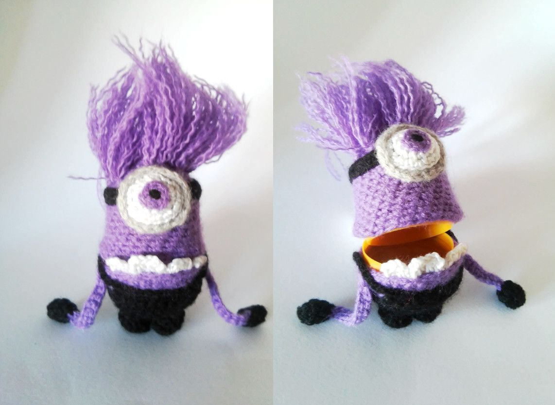 Under a Mushroom: Small minions | free pattern crochet | Pinterest ...