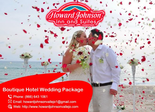 #Howardjohnsonvallejo is the perfect #Boutique_Hotel_Wedding_Package for your big moment.  http://goo.gl/5LN7nF