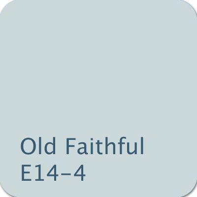 Dutch Boy Color Old Faithful E14 4 Color Blue