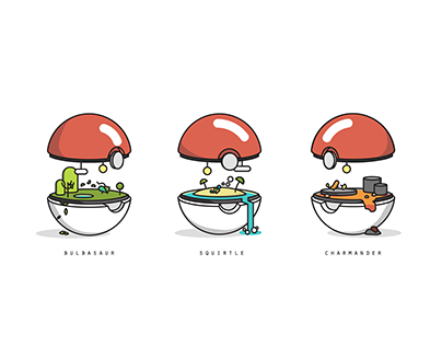 """Check out this @Behance project: """"Pokebiomes"""" https://www.behance.net/gallery/24246917/Pokebiomes"""