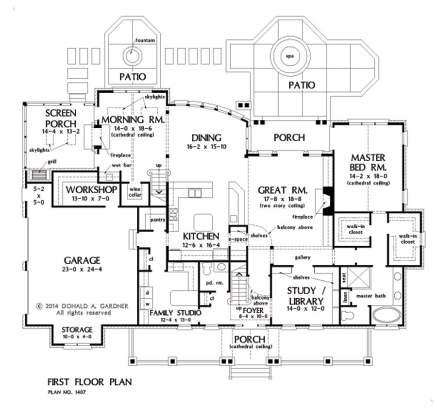 Floorplan Photo Of Home Plan 1407 The Lawrenceville Country Style House Plans Farmhouse Style House Plans Farmhouse Style House