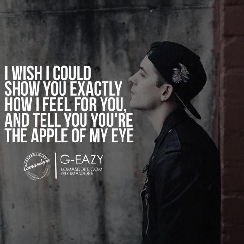 5 G Eazy Quotes To Know Him Better G Eazy Quotes G Eazy Lyrics