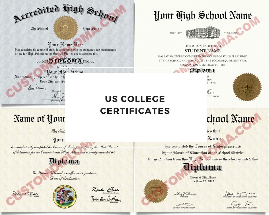 you can order online fake us college certificates make sure before