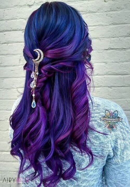 Top 37 Inspired Mermaid Hair Extensions And Hairstyles 2020 Hair Styles Bright Hair Bright Hair Colors