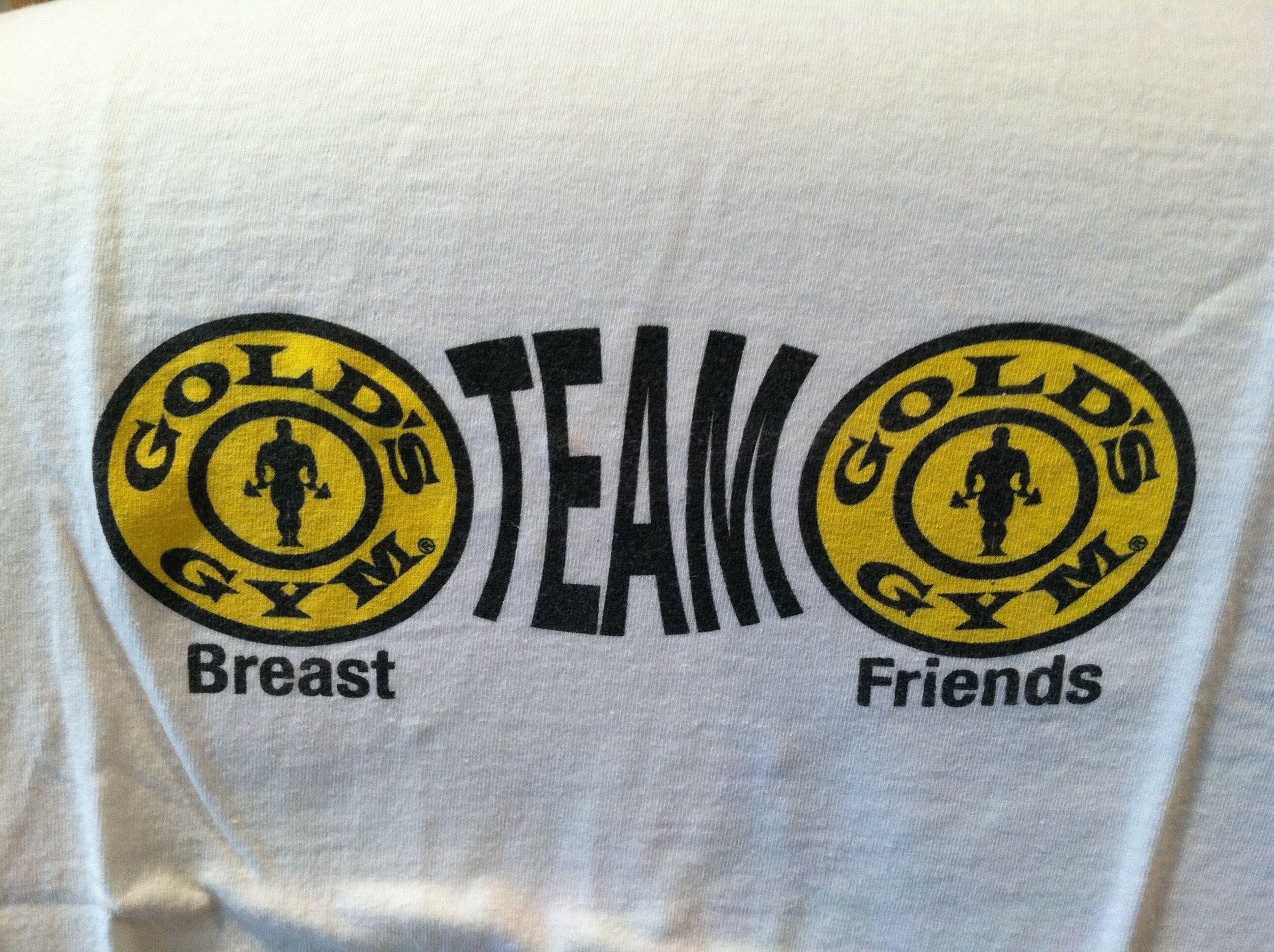 Gold's Gym Paramus Team Breast Friends Walk for Breast Cancer