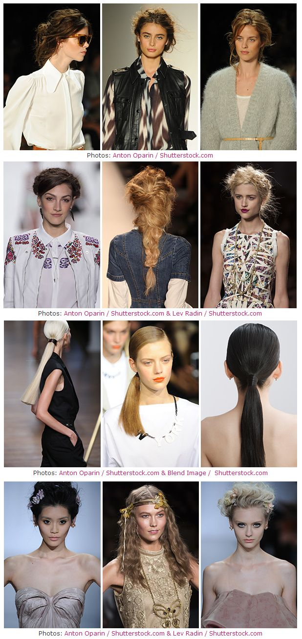 Hair Trends For 2104 Are All About Texture Updos Dos Hair