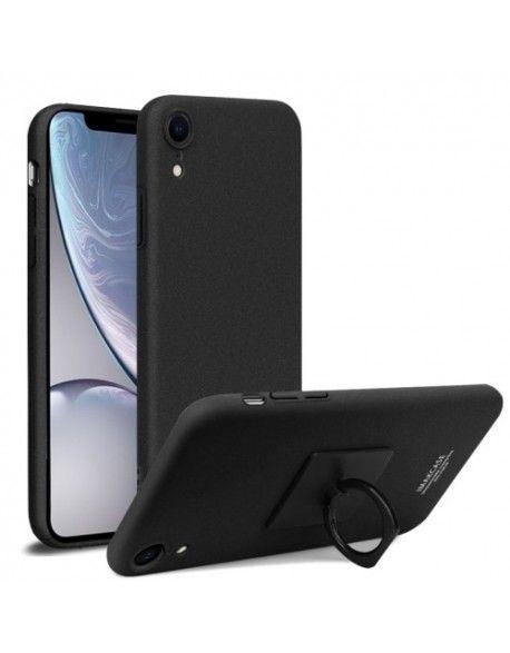 coque iphone xr transparente avec bague