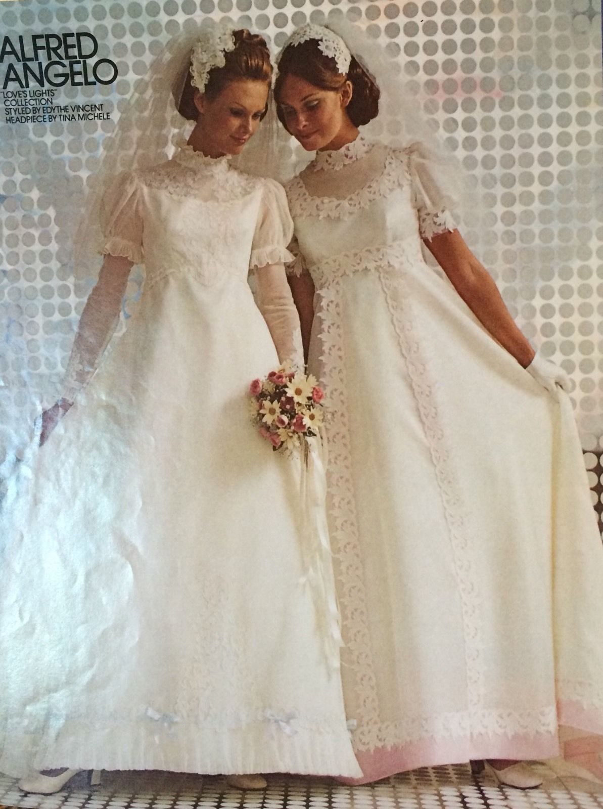 1970s wedding dress  Vintage s Alfred Angelo Wedding Dress Never Worn  The Simply