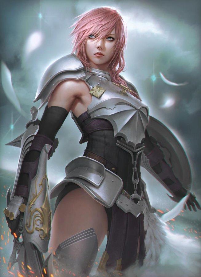 Arie on Twitter | Lightning final fantasy, Final fantasy ...  Final Fantasy Female Characters Wallpaper