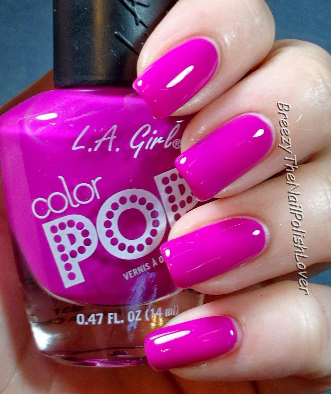 LA Girls Nail Polish in \