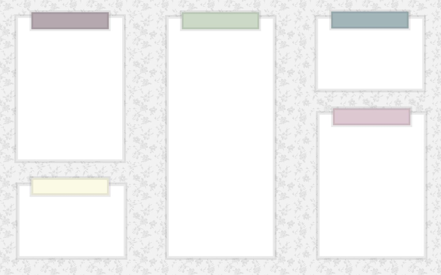 Ohh another one floral and pastels desktop pinterest - Desktop organizer wallpaper ...